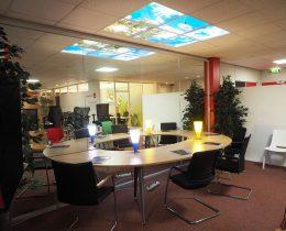 wolkenplafond met LED verlichting